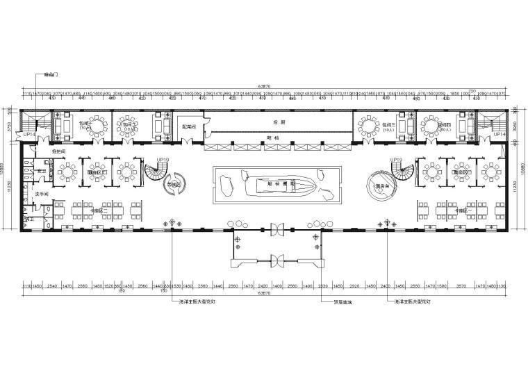 [新疆]大木叙品-深海一号餐厅施工图+效果图