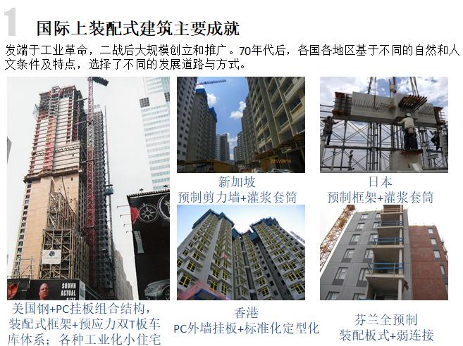 装配式建筑发展、技术和案例展示