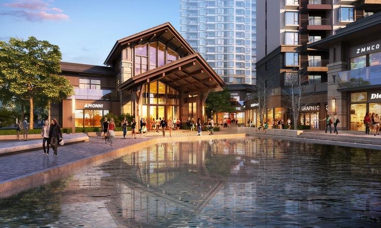 [陕西]东南亚风格商业内街建筑设计