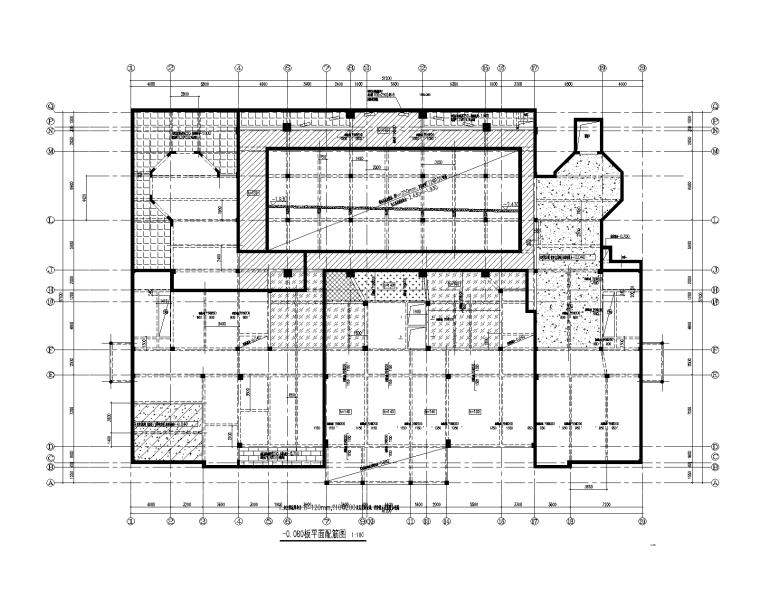 2层框架结构住宅配套公建楼结构施工图