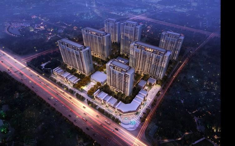 [浙江]宁波万科江东府居住区建筑模型设计