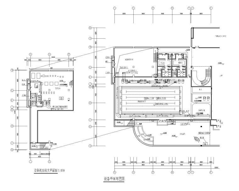 室内游泳池恒温恒湿加热系统设计施工图