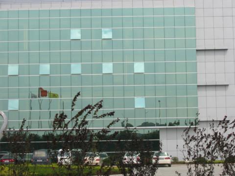 玻璃幕墙工程施工图文