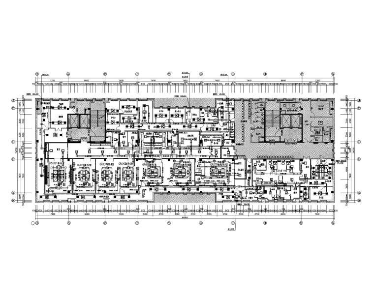 北京公主岭中医院综合楼净化项目暖通施工图