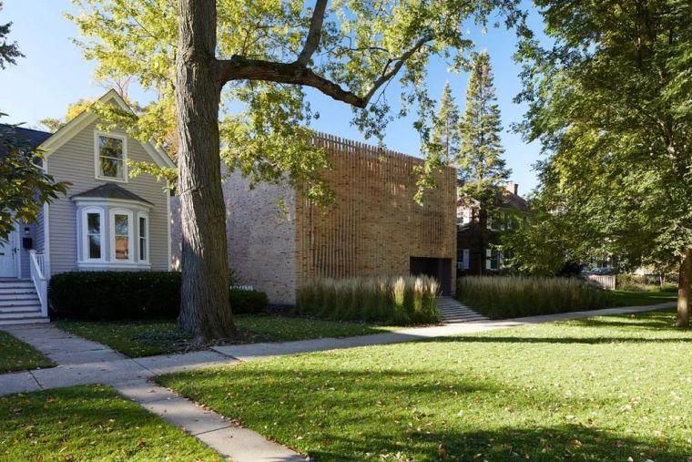 让砖块秀出好身材丨Thayer砖石住宅