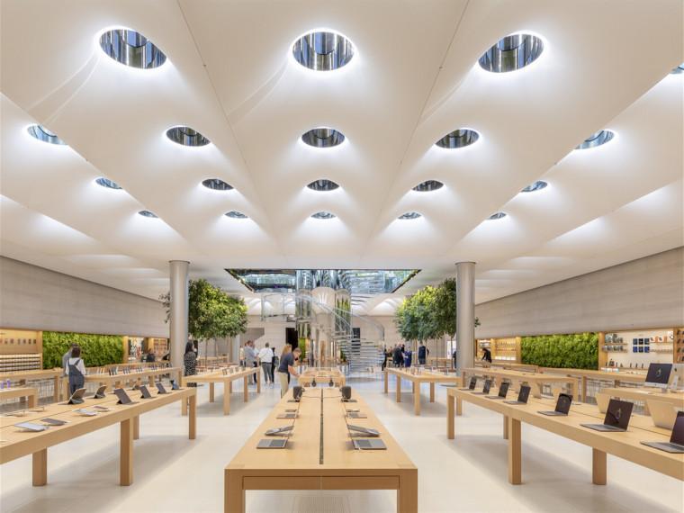 美国苹果第五大道门店