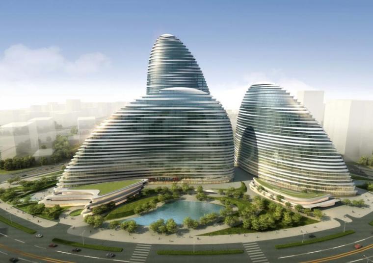 中建望京SOHO中心BIM应用实施规划方案