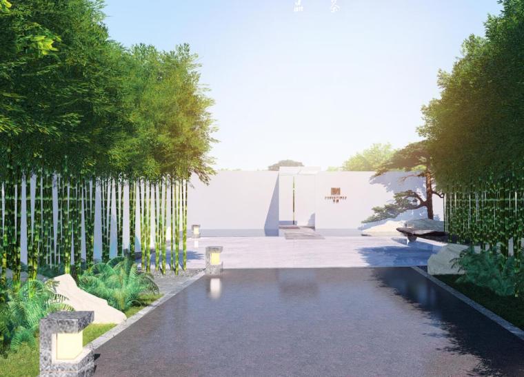 [浙江]公园大湖示范区景观概念设计