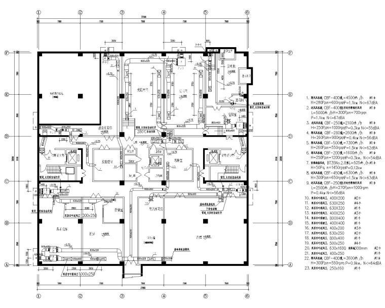 广西疾病预防控制中心业务综合楼暖通施工图