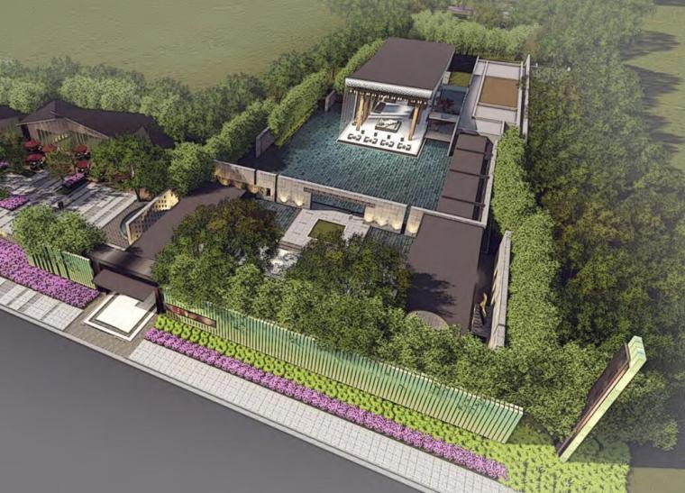 [江苏]中式风格示范区景观概念设计