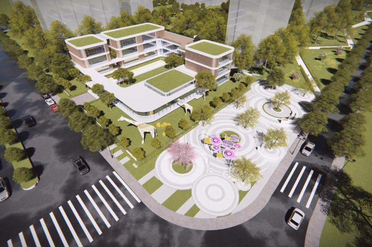 [安徽]高档高层洋房居住区景观方案设计