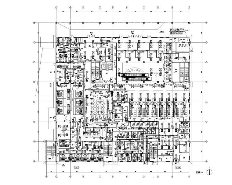 四川医院门诊楼VRV空调及通风排烟施工图