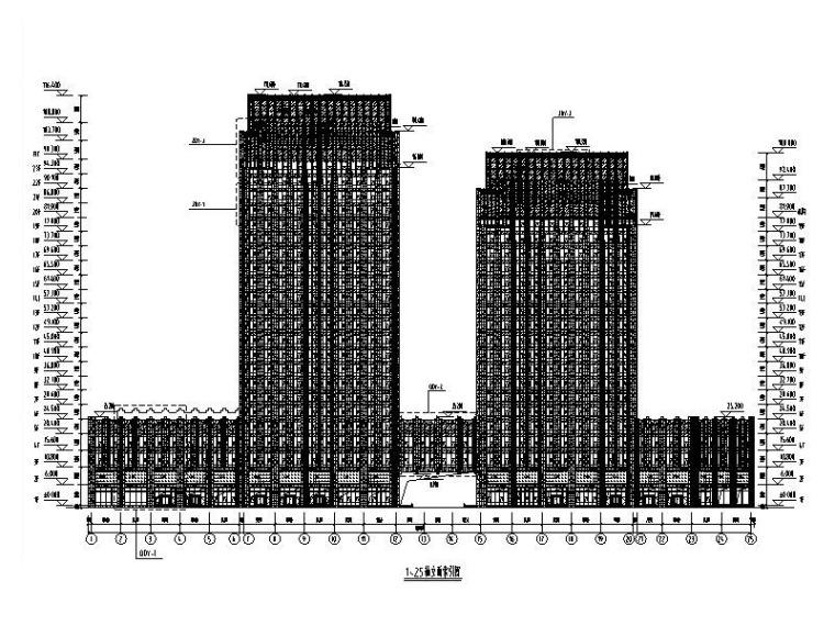 116m超高层大厦幕墙深化设计施工图(2014)