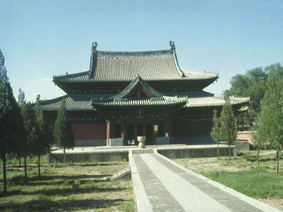 中国古代建筑屋顶做法