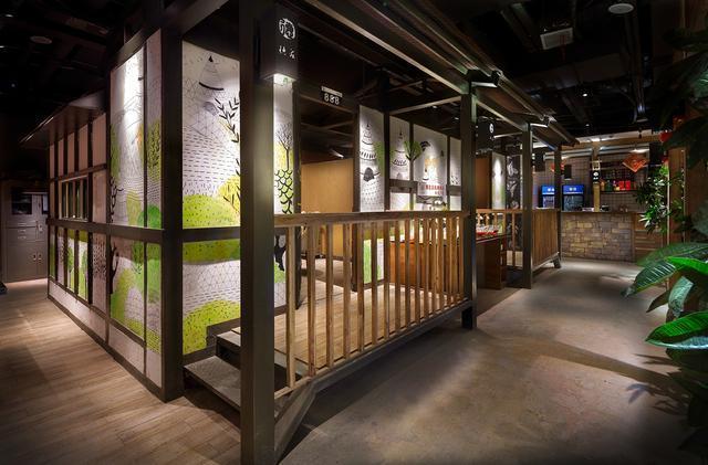 餐饮设计·空间设计德莊重庆火锅