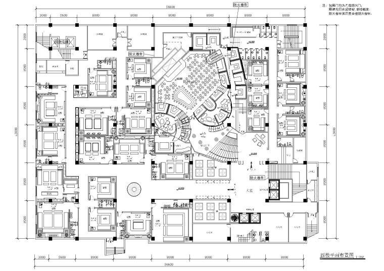 [温州]宝丽金KTV装饰设计项目施工图+效果图