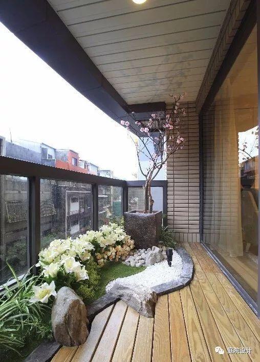 看完这些设计,我回头就把我家的阳台拆了!