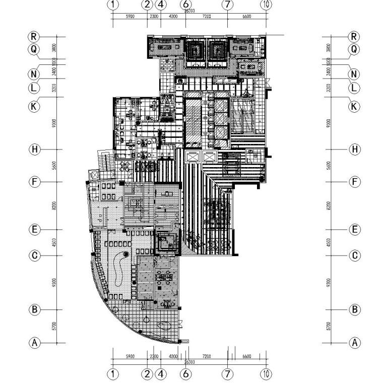 锡安月子会所装修施工图含效果图