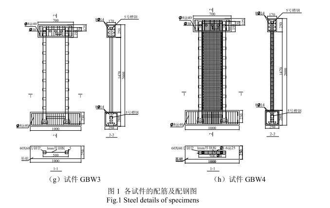 钢混凝土组合剪力墙模拟地震振动台试验研究