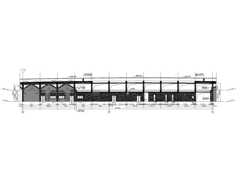 上海临港国际会议中心建筑施工图+效果图