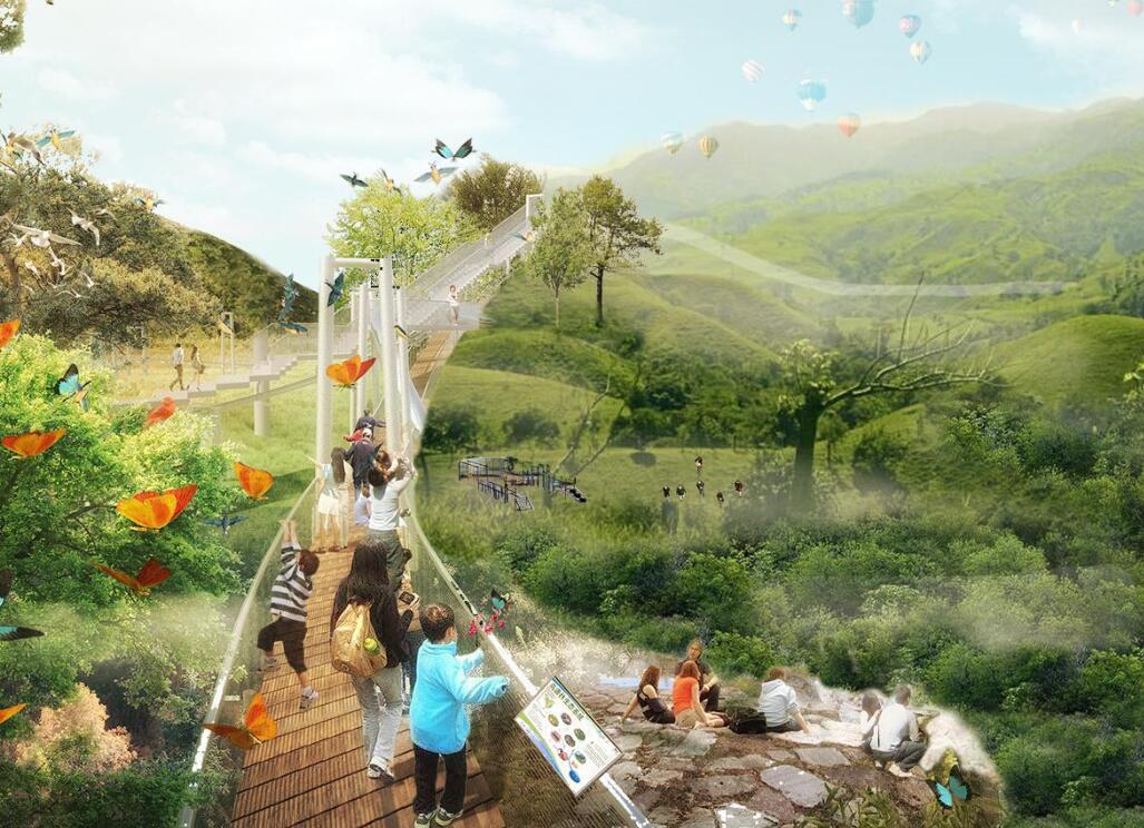 [海南]两岸滨水地区总体城市设计及景观规划-城市规划景观设计-土木资料网