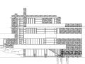 [北京]某三层流水别墅建筑施工图