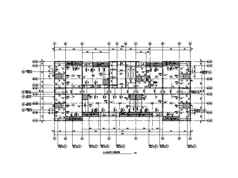 [广东]31层钢混剪力墙宿舍楼结构施工图2014