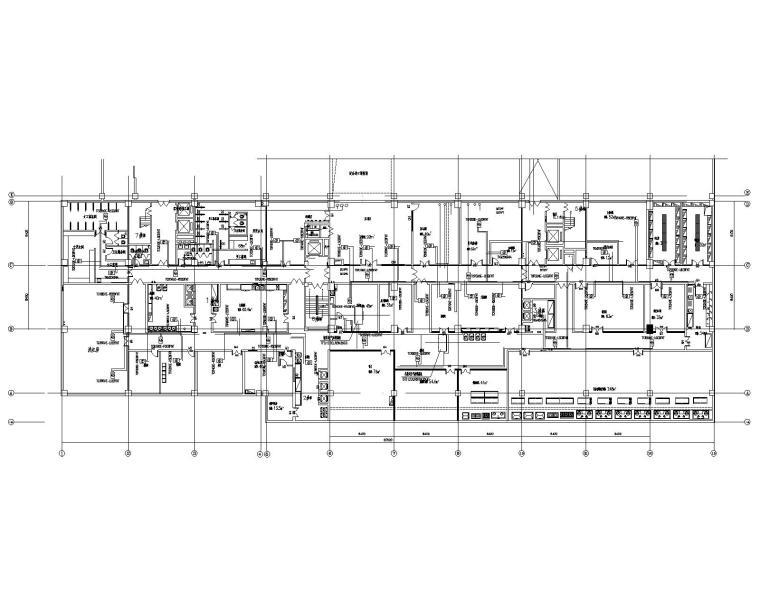 河北武安天泰国际大酒店十一层暖通施工图