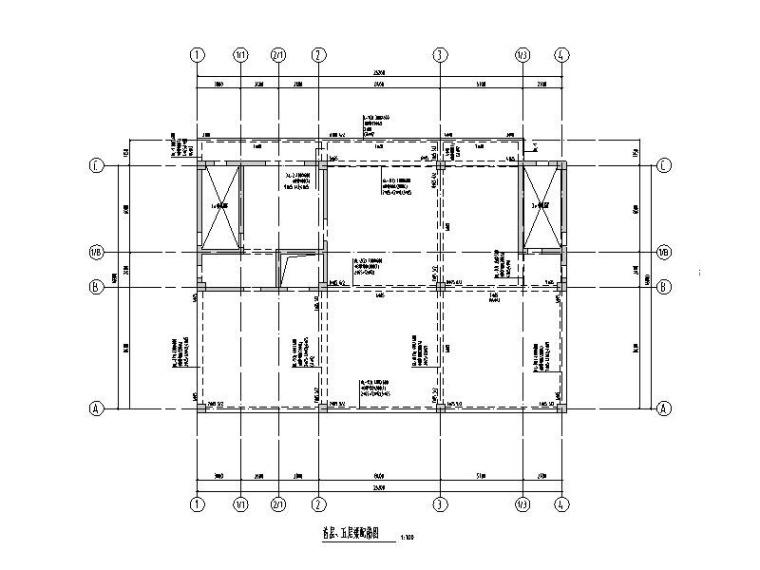 宿舍+餐厅+生产厂房全套建筑结构图