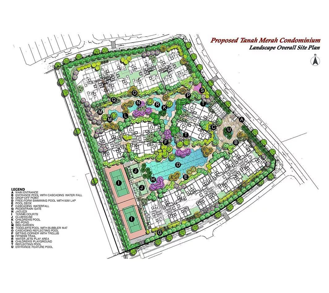 8個新加坡豪宅設計丨附30套住宅豪宅資料_52