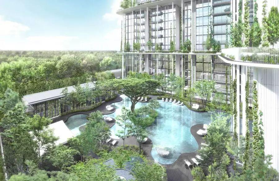 8個新加坡豪宅設計丨附30套住宅豪宅資料_64