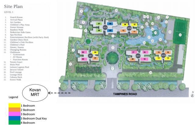 8個新加坡豪宅設計丨附30套住宅豪宅資料_65