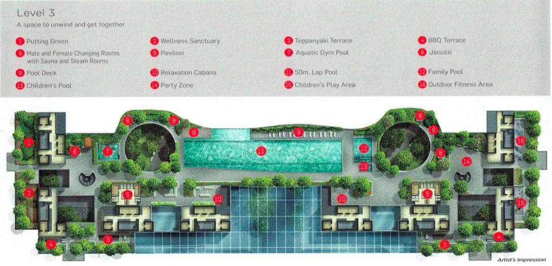 8個新加坡豪宅設計丨附30套住宅豪宅資料_75