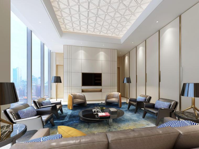 上海临港国际会议中心室内设计方案+效果图