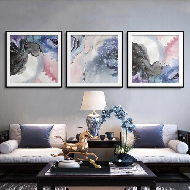 一组新中式水墨风装饰画|传统中式风格与现