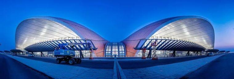 北京大兴机场首日通航,提前献礼建国70年_15