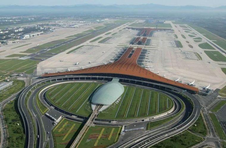 北京大兴机场首日通航,提前献礼建国70年_30
