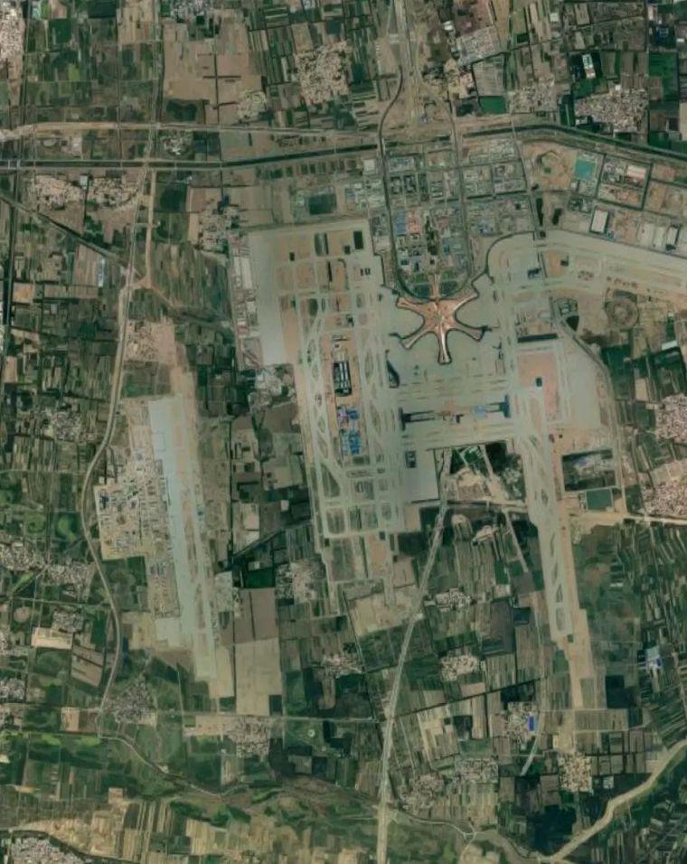 北京大兴机场首日通航,提前献礼建国70年_32