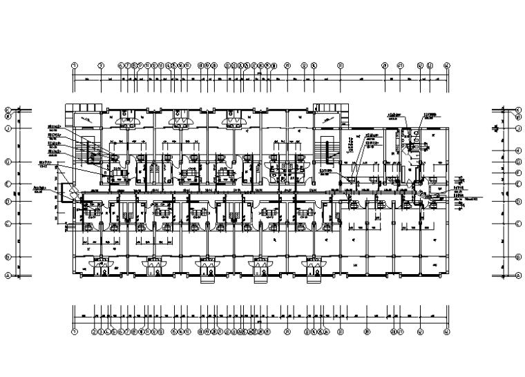 高科技工业园暖通设计施工图