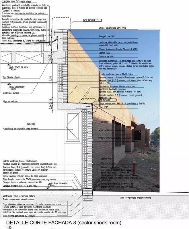 50个立面细节,不同方式的表现形式(细部详