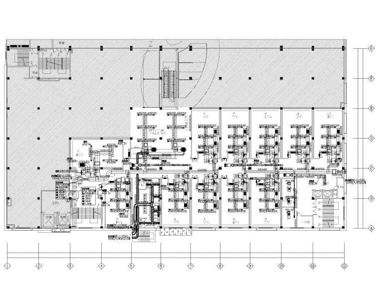 广州电影院暖通空调+排烟系统设计施工图