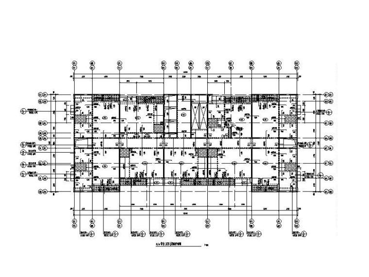 32层剪力墙宿舍楼结构施工图(预应力管桩)