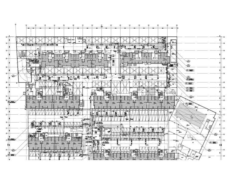 上海国际生态商务区住宅地源热泵暖通施工图