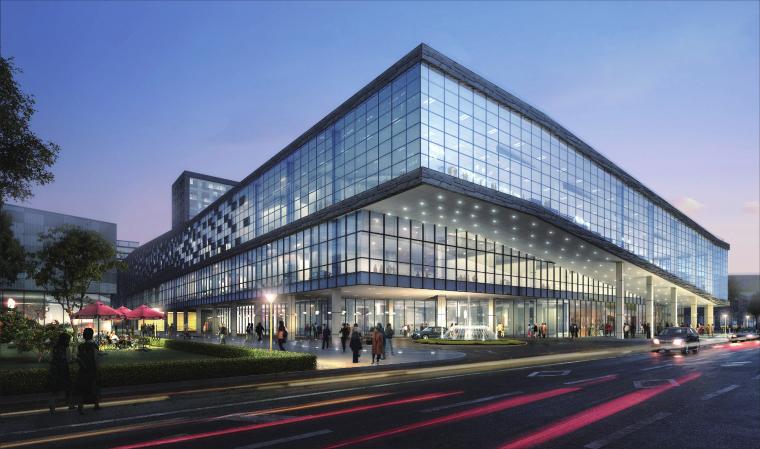 上海临港国际会议中心建筑规划设计方案