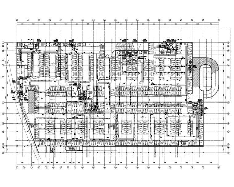 苏州汽车西站综合客运枢纽暖通含人防施工图