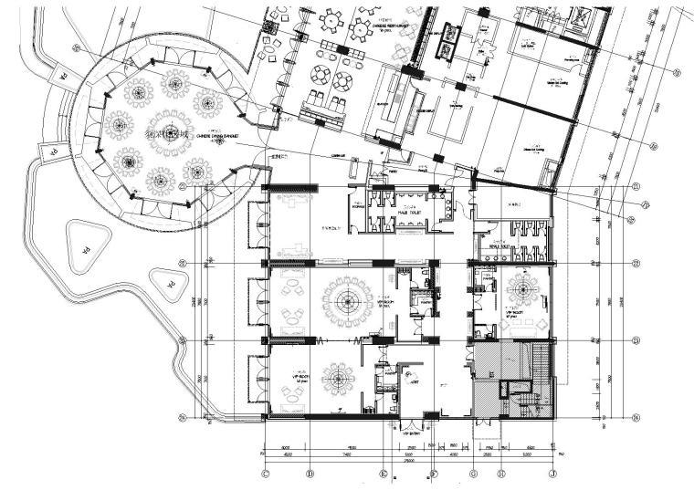 [深圳]南海酒店公区改造项目施工图+效果图