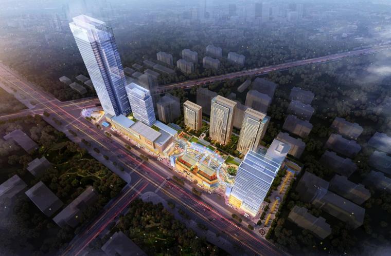[陕西]西安华翼新天地商业综合体设计
