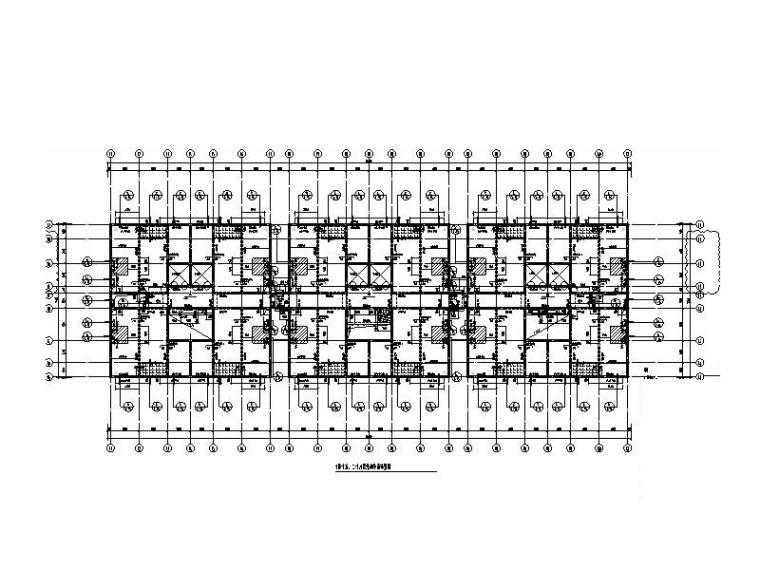 40层超高层剪力墙商务公寓建筑结构施工图