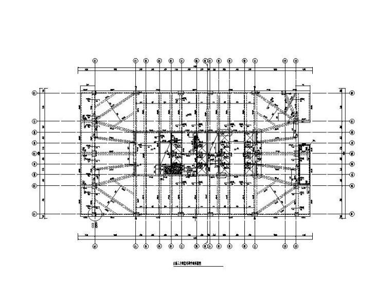 44层超限超高层框筒结构研发用房结构施工图