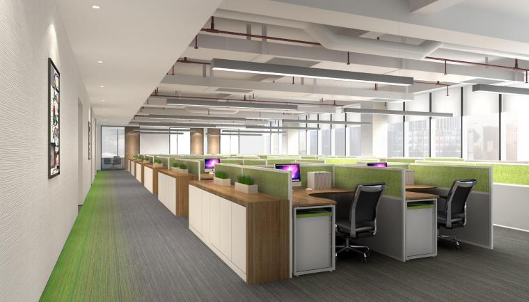 上海宝龙七宝总部5A甲级总部办公室设计方案